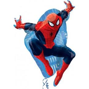 Шарики-фигуры, музыкальные и ходилки (фольга):  А ФИГУРА/35 Человек паук в прыжке
