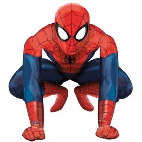 Шарики-фигуры и ходилки (фольга): А ХОД/P90 Человек паук