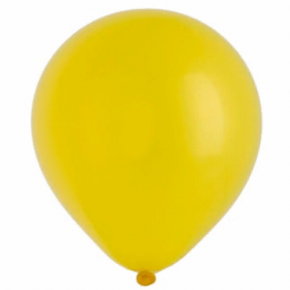 "Шар (латекс)  Е 12"" Металлик Yellow"