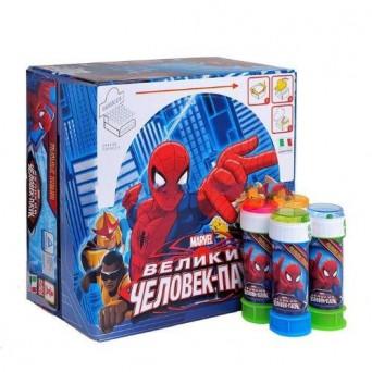 Сувениры, игры: Мыл пузыри   Marvel Человек-Паук, 60мл