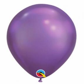 "Шар (латекс) Q 11"" Хром Purple Maxi"