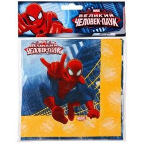 Сервировка-украшение застолья: Салфетка Marvel Человек-Паук 33см 12шт/G